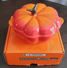 Le creuset pumpkin 2qt new with box