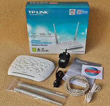 TP-LINK TD-W8961ND 300 Mbps 2.4GHz Wireless N ADSL 2+ + MODEM ROUTER GATEWAY Wi-Fi
