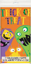 Halloween Silly Monsters Plastic tablecover Cute Childs Kids Colourful Design
