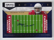 2012 Prominence Michael Floyd Field Plate Auto Rc #219 (08/75)