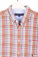 Karierte Tommy Hilfiger Langarm Herren-Freizeithemden & -Shirts aus Baumwolle