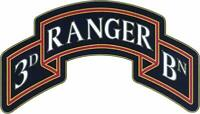 3rd Ranger Battalion, 75th Ranger Regiment CSIB - Combat Service Identification
