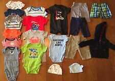 Lot Of Baby Boy Clothes Size Newborn- 20 Piece Set