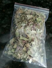 1 oz (30 gram) Crushed Fresh Cut Rinse Cleaned Nature DRIED ORGANIC GUAVA LEAVES