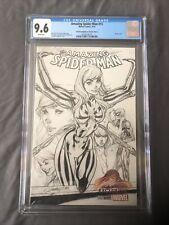 AMAZING SPIDER MAN #15 CGC 9.6 Variant J Scott Campbell Rare Sketch Iron Spider