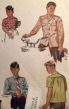 Child Male Shirt Sewing Patterns