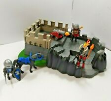 Playmobil Knights mini-Castle - Knights + Horse + Cannon + Accessories