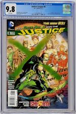 Justice League 8 DC 2012 CGC 9.8 1st App. Marvel Family Before Powers Top Grade