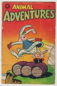 Animal Adventures #3, KING KARROT, 1950's Funny Animal, Accepted, GOOD  r