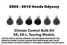 2005 - 2010 Honda Odyssey EX EX-L Dash Panel Climate Control Light 6 Bulb Kit