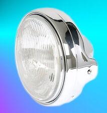 Phare Chromé H4 Lampe Suzuki GSF Bandit 600 650 1200 1250 Sv Gs GSX 1100