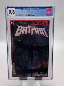 Future State: The Next Batman #1 CGC 9.8 WP Ladronn Cover NEW CASE