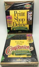 Print Shop Deluxe Companion 1994 10th Anniversary Brøderbund Desktop Publishing
