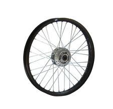 HMParts Pit Bike Dirt Bike Cross Alu-Felge Eloxiert 21 Zoll vorne Schwarz