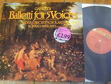 PAD-119 Gastoldi Balletti for 5 Voices / Ruhland SEON SERIES