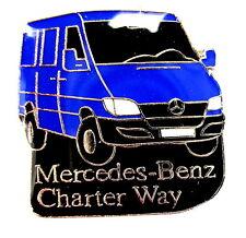 """AUTO Pin / Pins - MERCEDES BENZ  / TRUCK CHARTER WAY """"SPRINTER"""" [1158]"""