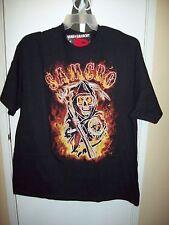 Sons of Anarchy Samcro Black T-Shirt Medium