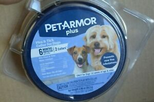 PETARMOR PLUS FLEA & TICK COLLAR FOR DOGS SMALL & LARGE ( 12 MONTHS PROTECTION )