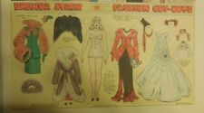 Brenda Starr Sunday with Large Uncut Paper Dolls from 11/9/1941 Full Size Page