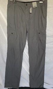 BNWT Mens Grey Cargo Combat Pants Trousers W 36 L 34 By Tu NEW