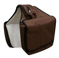 BROWN Heavy Duty Insulated Cordura Nylon Saddle Bags!! NEW HORSE TACK!!