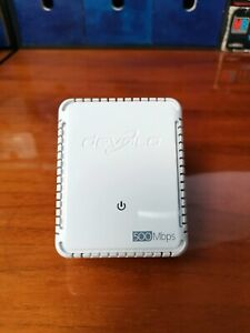 Devolo dLAN 500 duo powerline dual Ethernet Adapter (not WiFi), 500Mbps, MT2585