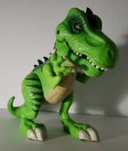 Playskool Heroes Jurassic World Green T-Rex Action Figure Chomp/Stomp Dinosaur