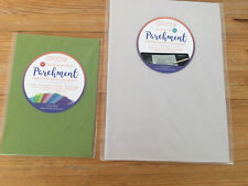 Groovi Parchment Papers A4White & A5 Two Tone Pack
