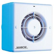 Manrose CF100S Toilet / Bathroom Extract Fan Centrifugal (NO Timer)