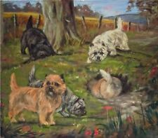 CAIRN TERRIER DOG FINE ART LIMITED EDITION PRINT - by the late Julie Stooks