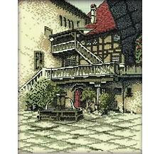 RTO Counted Cross Stitch Kit  - The Castle Courtyard