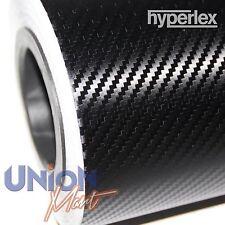 Hyperlex qualità in fibra di carbonio vinile 1240 x 500mm - 3D WRAP SHEET