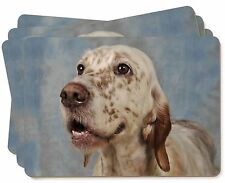 English Setter Dog Picture Placemats in Gift Box, AD-ES3P