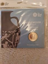 2019 Wedgewood £2 Pound Coin Royal Mint Pack Two Pounds BUNC Sealed