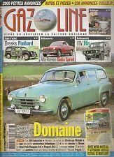 GAZOLINE 176 GUIDE ACHAT BREAKS PANHARD DOMAINE ALFA GIULIA SPRINT 62 VW ILTIS