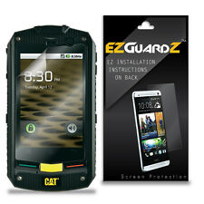 6X EZguardz LCD Screen Protector Cover HD 6X For Caterpillar CAT B10 (Clear)