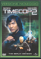 TIMECOP 2 - DVD (USATO EX RENTAL) RARO!