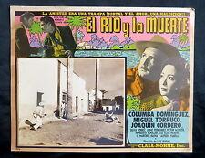 LUIS BUNUEL El Rio y la Muerte JOAQUIN CORDERO LOBBY CARD PHOTO  1954