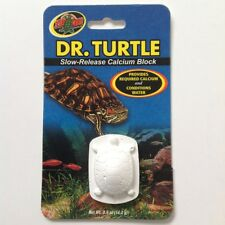 Zoo Med DR. TURTLE Slow Release Calcium Sulfa Block Water Conditioner 0.5 oz