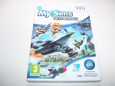 My Sims Sky Heroes * NINTENDO WII PAL GAME  *