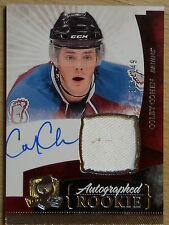 UPPER DECK 10-11 *THE CUP* COLBY COHEN ROOKIE AUTOGRAPH & JERSEY  #117/249