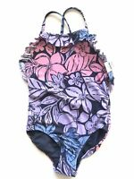NWT GAP KIDS Small Girls Swimsuit One Piece Tropical Floral