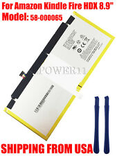 "NEW OEM Genu. Battery For Amazon Kindle Fire HDX 8.9"" 58-000065 26S1004 6000mAh"