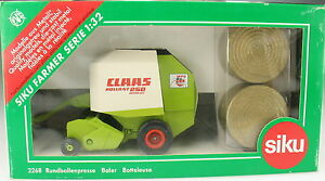 SIKU FARMER 2268 - CLAAS Rundballenpresse ROTOR CUT - Fehldruck - 1:32