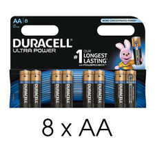 8x Duracell Ultra Power AA MX1500 1.5V Alkaline Batteries Mignon LR6 Pack of 8