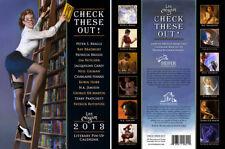 Literary pin up calendar 2013 Lee Moyer Neil Gaiman Jim Butcher Patrick Rothfuss