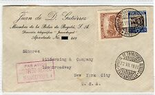 COLOMBIA: 1936 AIRMAIL COVER TO USA (C23621)