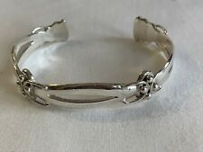Bracelet Vintage Taxco Silver Man or Lady Cuff Unique Design