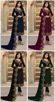Kameez Salwar Pakistani Indian Suit Dress Wear Designer Embroidery Shalwar