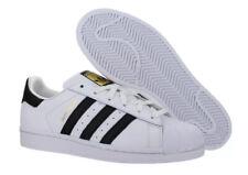 Adidas Superstar Junior GS Size 3.5 White Black Gold C77154